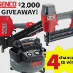SENCO $2,000 Giveaway