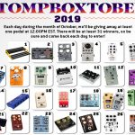 Stompboxtober 2019: 31 Days of Pedal Giveaways