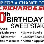 P.C. Richard & Son 110th Birthday Outdoor Oasis Sweepstakes (SELECT STATES)