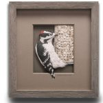 Downy Woodpecker Paper Sculpture Sweepstakes