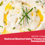 Mashed Idaho Potato Day Sweepstakes