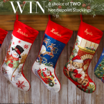 Needlepoint Stocking Giveaway