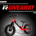 The Strider Bikes 12 ST-R Giveaway