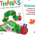 Very Hungry Caterpillar Thanks Giveaway