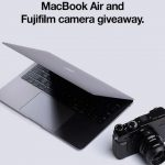 MacBook Air & Fujifilm Camera Giveaway