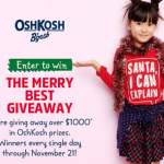 Mac Kid & Osh Kosh Spread the Cheer Holiday Giveaway
