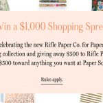 The Rifle Paper Co. for Paper Source Wedding Sweepstakes