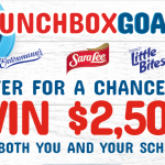 The Mom's Return To School #LunchboxGoals Sweepstakes