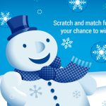 VIP Voice Holiday Scratch 'n' Match Instant Win Game
