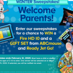 "The ""Ready Jet Go"" Sweepstakes"