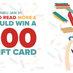 $500 Gift Card Sweepstakes for Resolve to Read More in 2020 Sweepstakes