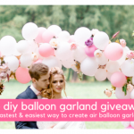 The DIY Balloon Garland Kit Giveaway