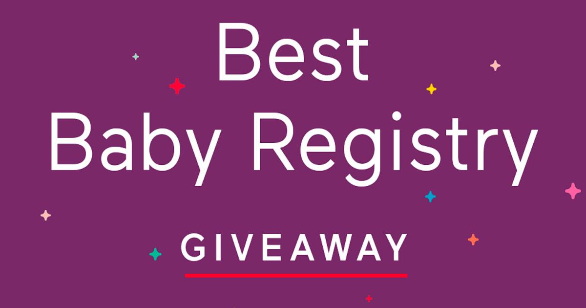 Best Baby Registry Giveaway - Julie's Freebies
