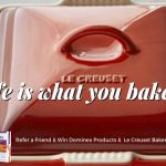 Dominex Products & a LeCreuset Baker Giveaway