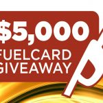$5,000 Fuel Card Giveaway