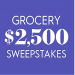The BHG $2,500 Grocery Sweepstakes