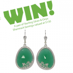 Irish Shop Shamrock Earrings Giveaway