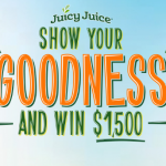 Juicy Juice Show Your Goodness Contest