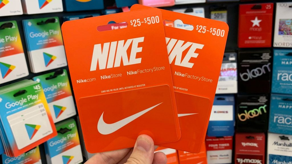Sell Nike Gift card For Vodafone