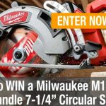 Milwaukee Saw Kit Giveaway