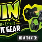 Monster Energy Chance to Win a Guitar Sweepstakes