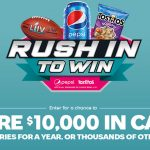 Pepsi Cola & Frito Lay Rush to Win Instant Win Game