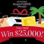 Sephora Beauty Insider January Sweepstakes