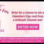 Hallmark Channel's Share A Little Love Sweepstakes