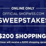 WSS Shopping Spree Giveaway