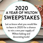 2020 A Year of Wilton Sweepstakes