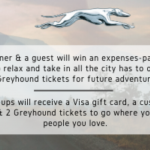 Greyhound Love Your Journey Sweepstakes