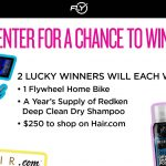 The Redken, Hair.com and Flywheel Sweepstakes