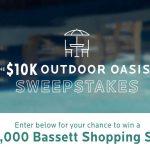 "Bassett ""$10K Outdoor"" Sweepstakes"