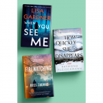 Books from the Source February Thriller Sweepstakes