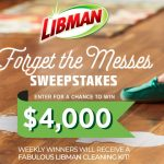 The Forget the Messes Sweepstakes