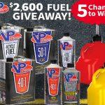 $2,600 VP Fuels Giveaway!