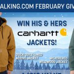 His and Her Carhartt Jacket Giveaway