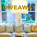 Modern Lighting Lamp Giveaway
