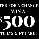 Tilly's February Giveaway