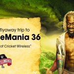 WrestleMania 36 Flyaway Sweepstakes