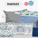 ezpz + Thirsties $95 Little Dishes for Little Hands Giveaway
