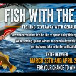 "The ""Fish With The G-Man"" Giveaway"