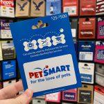 $100 PetSmart Gift Card Giveaway
