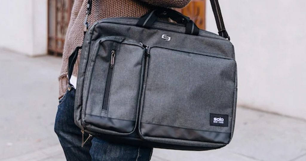 Solo Ny Hybrid Briefcase Backpack Giveaway Julie S Freebies