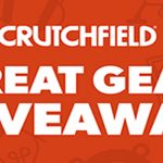 Crutchfield Great Gear Giveaway April 2020