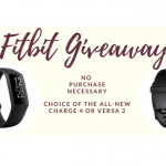 April Fitbit Giveaway