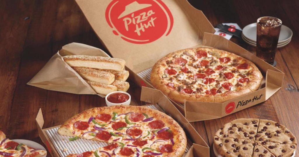 Pizza Hut 50 Off Menu Priced Items With Free Contactless Delivery Or Pick Up Julie S Freebies