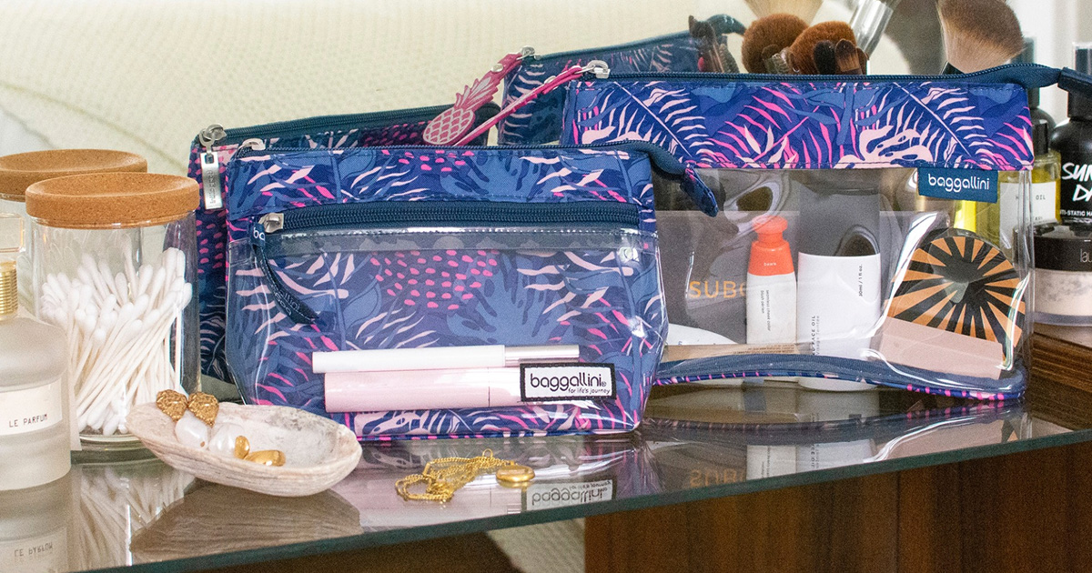 Baggallini Makeup Pouch Giveaway