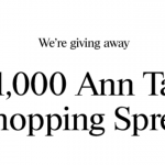 Ann Taylor $1,000 Gift Card Giveaway
