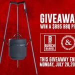 Burch Barrel BBQ Firepit Giveaway